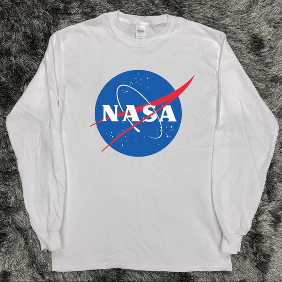 40ed8927 Gildan Shirts | Nasa Meatball Long Sleeve Shirt Vintage Retro | Poshmark